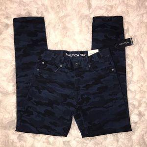 Boys Náutica Skinny Fit Pants - Size 14